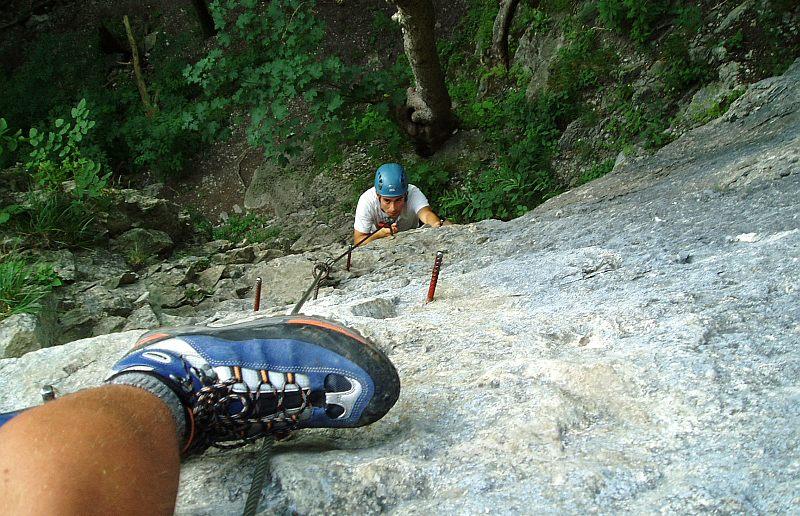 Klettersteig Via Kapf : Via kessi