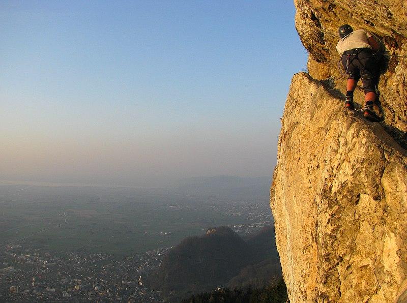 Klettersteig Via Kapf : Klettersteig via kessi