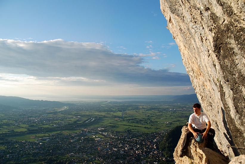 Via Kapf Klettersteig : Via kessi kapf